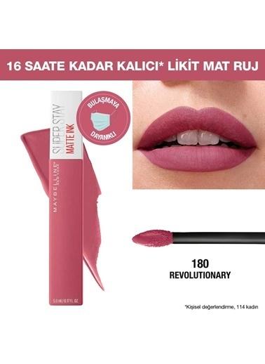 Maybelline Maybelline New York Super Stay Matte Ink Likit Mat Ruj - 155 Savant - Nude/Pembe Pembe